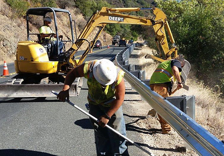 Caltrans Construction Inspection & Emergency Repairs - Green Valley